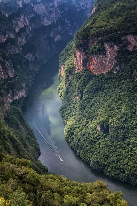 Sumidero Canyon Mexico |  Michele Marrucci Say Yes To Adventure