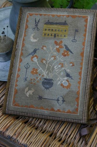 Mustard Seed Manor Sewing Book (Outside) | Stacy Nash