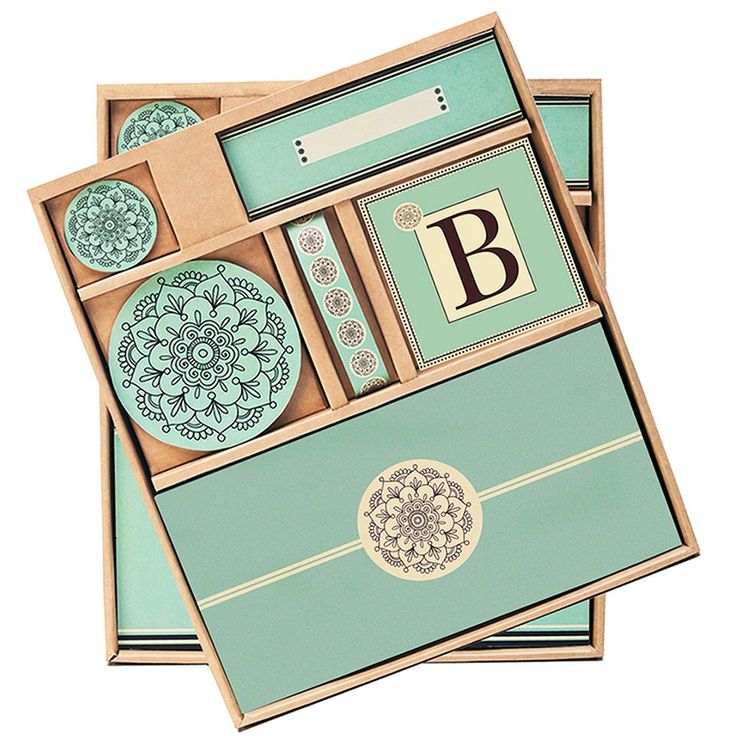 Briday Green Bridal Shower Table Décor Kit