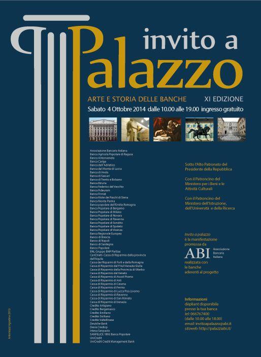 Locandina Invito a Palazzo