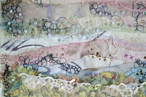 Emily Notman - Meadow Drops, detail http://www.emilynotman.co.uk/