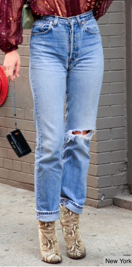 Street Style: New York - featuring the trending Wedgie Fit jean this Spring