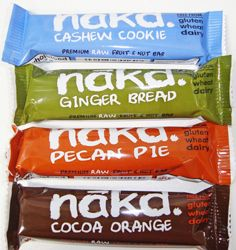 Make your own Nak'd raw bars!