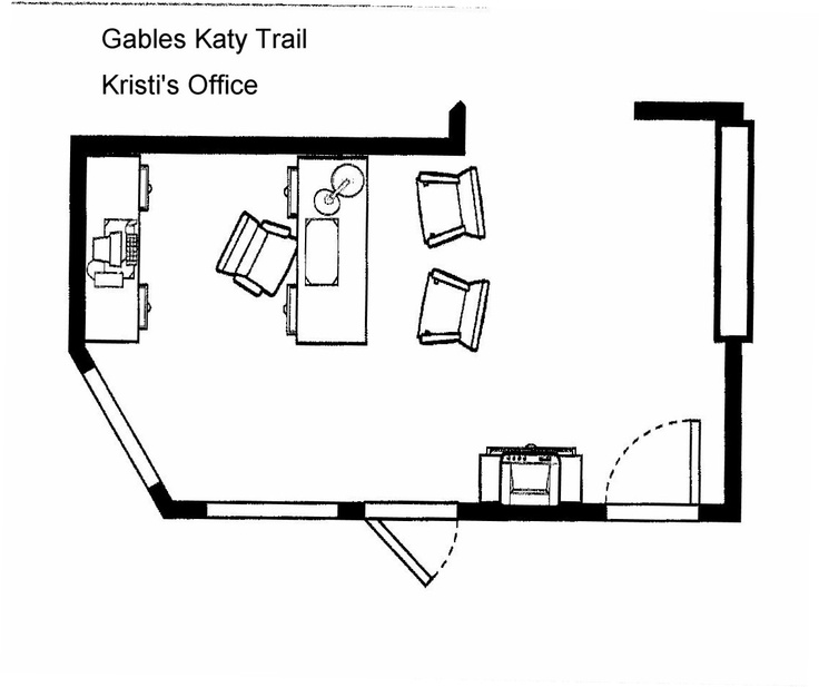 Manager 39 S Office Layout Gables Katy Trail Pinterest