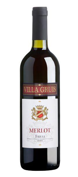 La Delizia - Villa Gruis Merlot Friuli.