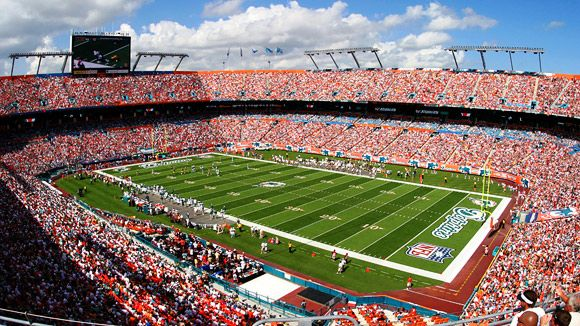 Dolphins Stadium (or whatever it's called now), Miami (Super Bowl XLI)