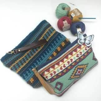 A nice design of a handbag DIY pattern.