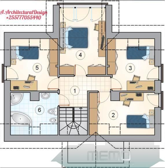 This Pin Was Discovered By Sanju Online Discover And Save Your Own Pins On Pinterest Maisonderevecha House Plans House Plans For Sale Bedroom House Plans