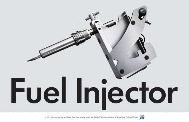 Adeevee - Volkswagen Original Parts: Oil Pump Valve, Auto Air Filter, Fuel Injector