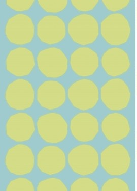 Marimekko Kivet velvet fabric (designers: Maija & Kristina Isola)