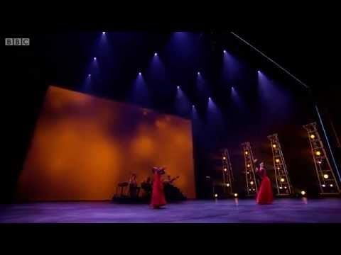 """Winner of BBC's TV program """"Young Dancer of the year 2015"""" Vidya Patel dances on live music a South Asian Contemporary piece with her dance partner Jayna Modasia. Lovely!"""