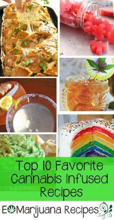 E Marijuana Recipes-Top 10 Favorite Cannabis Infused Recipes