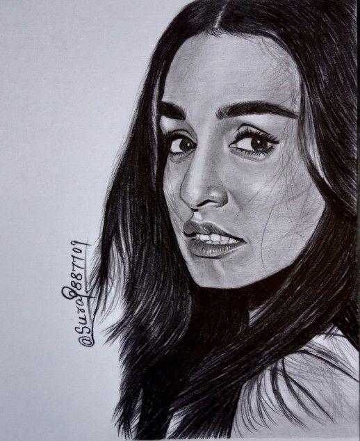 Shraddha Kapoor Sketch | Shraddha kapoor, Drawings, Pencil ...