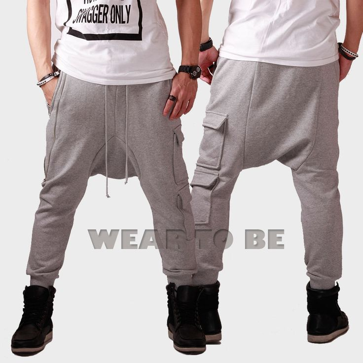 Ebay Men Jogger Pants Hip Hop Baggy Harem Sweat Pants Men Fashion Swag Kanye West Fashion Style