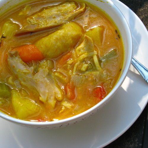 jamaican pumpkin chicken soup recipe  cook like a