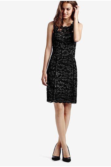 Two-tone Lace Sheath Dress - Intimissimi
