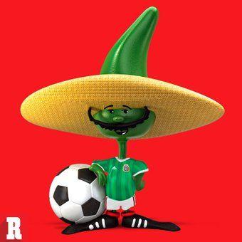 Pique, la mascota de México 86, se renovó y viste la nueva playera del…