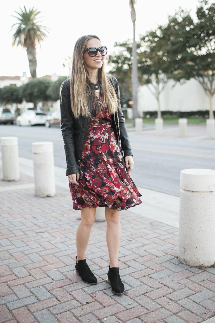 Merrick's Art Black Boots Dress