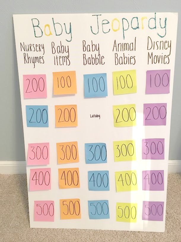 Have you been to enough baby showers where you can recite the answers to all those games? How about some fun baby shower games that you'll WANT to play? #BabyGames