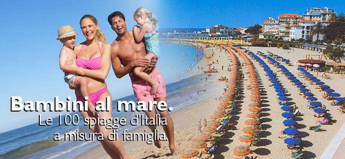 Sei diventato genitore da poco ed ora dove porterai la tua famiglia in vacanza? Ecco le 100 Spiagge d'Italia a misura di bambino che hanno vinto la Bandiera Verde!  Il nostro post di oggi potrebbe servirti ;) http://ndgz.it/spiagge-per-bambini #bandiereverdi #bambini #mare #spiaggia #2015