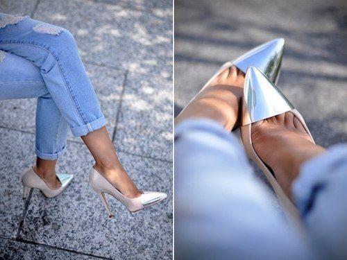 Mirrored toe...so cute