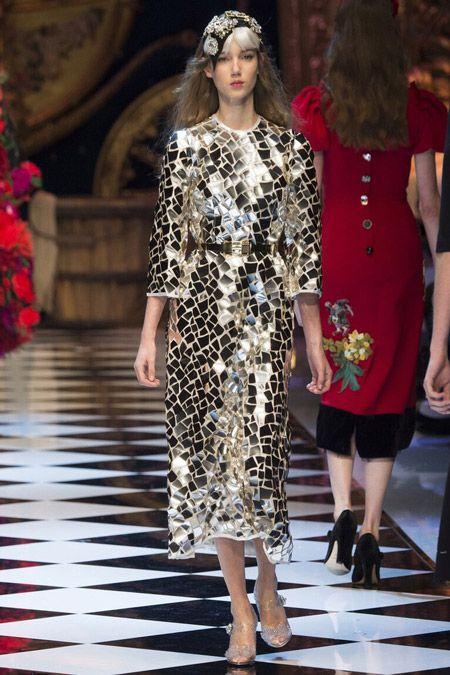 Фото с показа: Dolce & Gabbana