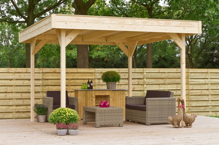 78 images about terras overkapping on pinterest gardens outdoor living and sheds - Overdekte patio pergola ...