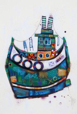 Ritchie COLLINS - Fishin' Boat