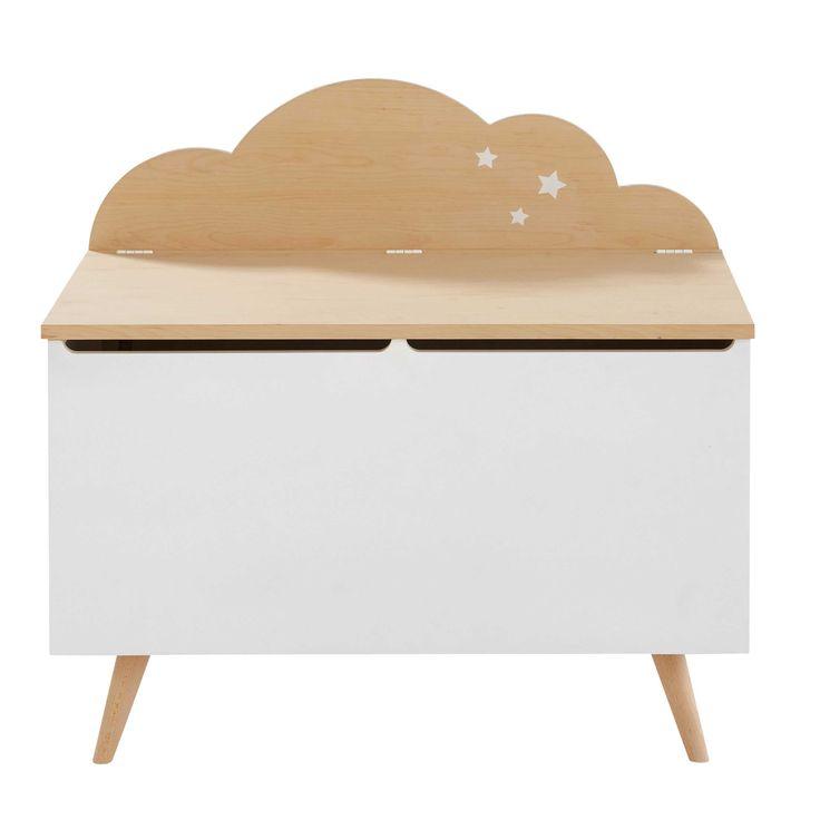 Children's Two-Tone Cloud Chest Moonlight