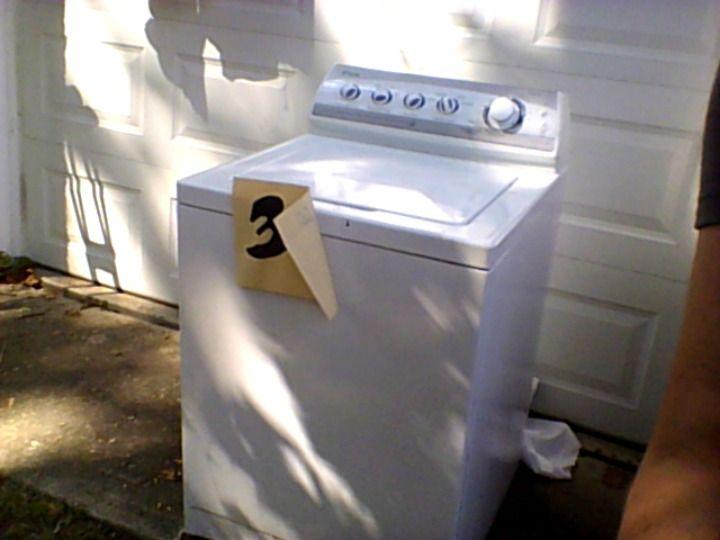 maytag premiera washing machine in extravaganza 39 s garage sale dayton oh garage sale stuff. Black Bedroom Furniture Sets. Home Design Ideas