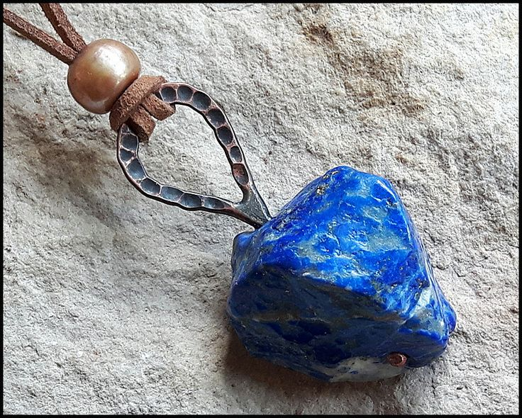 Agate Stone Necklace, Element Earth Neclace, Wiccan Necklace, Agate Stone pendant, Symbol of Element Earth, Natural Stone Necklace, by WitchTools on Etsy