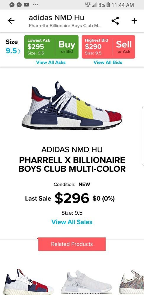 ccb80123 Pharrell X BBC X Adidas NMD Human Race Trail Size: M 9.5 Order Confirmed  #fashion #clothing #shoes #accessories #mensshoes #athleticshoes (ebay link)