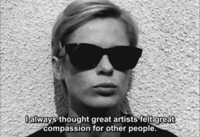 Bibi Andersson in 'Persona' 1966, directed by Ingmar Bergman Swedish film