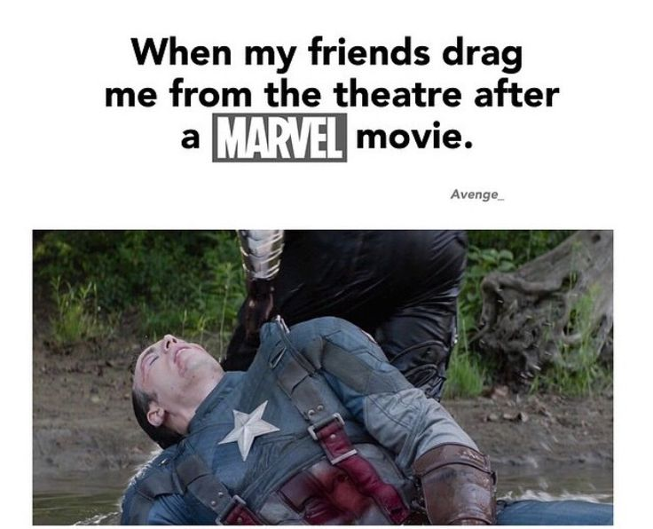 The most accurate thing ever.<<< This will be me after Civil War