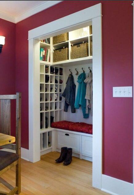 Foyer Closet Uk : The best ideas about coat storage on pinterest