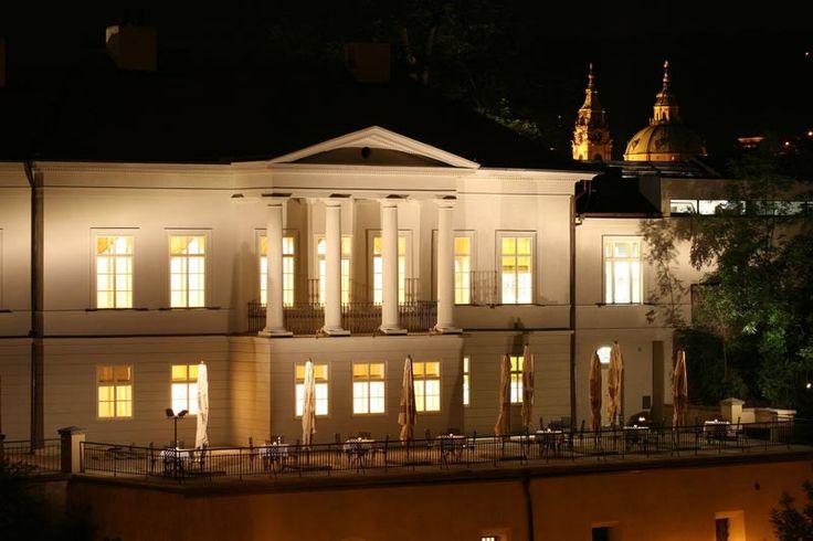 "Ресторан в Праге ""Villa richer""."