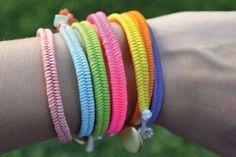 DIY: fishtail bracelets
