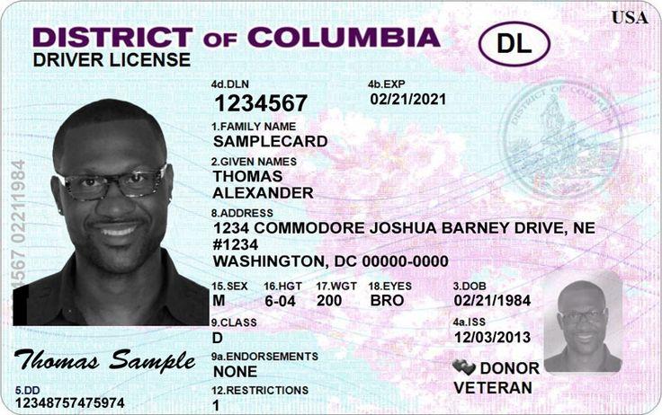 license usa drivers driver psd template state photoshop columbia district templates washington california international professional certificate card states fake hampshire