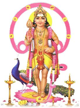 """Muruga's mantra """"SaRaVaNa BaVa,"""" is a combination of 6 syllables and the highest mantric power. Sage Agastya, who mastered this mantra, revealed the secrets of the 6 syllables: SA - Attracts all people to your door RA - Brings Wealth VA - (Va is also said as """"Ah"""") - Kills competition, diseases and debts NA - Dissuades enemies, suppresses problems before they arise BA - Attraction through charming VA - Stops negativity and influence from bad planets Each of the 6 syllables =6 faces"""