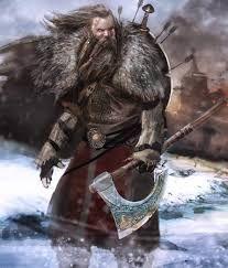 Image result for warrior in bear pelt