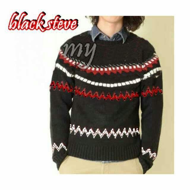 sweater rajut BLACK STEVE Harga 39k www.ramailancar.com www.facebook.com/tokobajurajutmurah 0857 2212 6318