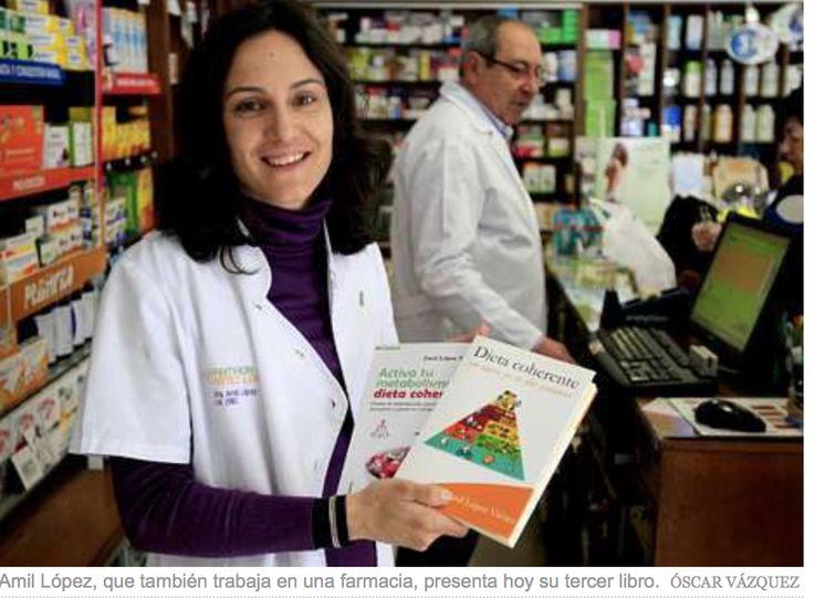 """Presentación del tercer libro """"Adelgaza con la Dieta Coherente"""". La Voz de Galicia"""