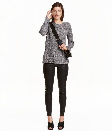 Slim-fit Leggings   Dark blue   Ladies   H&M US