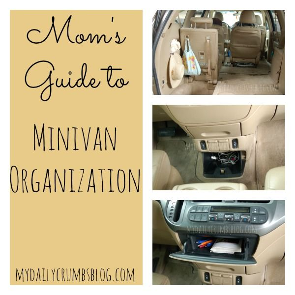 Keep your Mama-Mobile Organized with these tricks! http://mydailycrumbsblog.com @MyDailyCrumbs