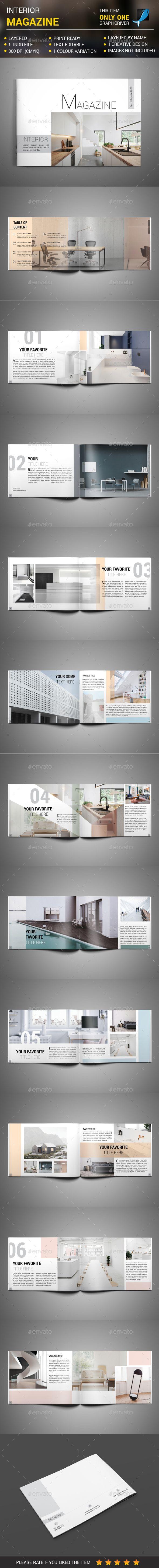 Landscape Interior Magazine - #Magazines Print Templates