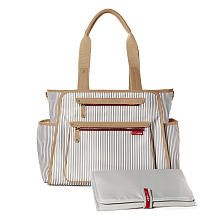 Skip Hop Grand Central Take-It-All Tote Diaper Bag - French Stripe