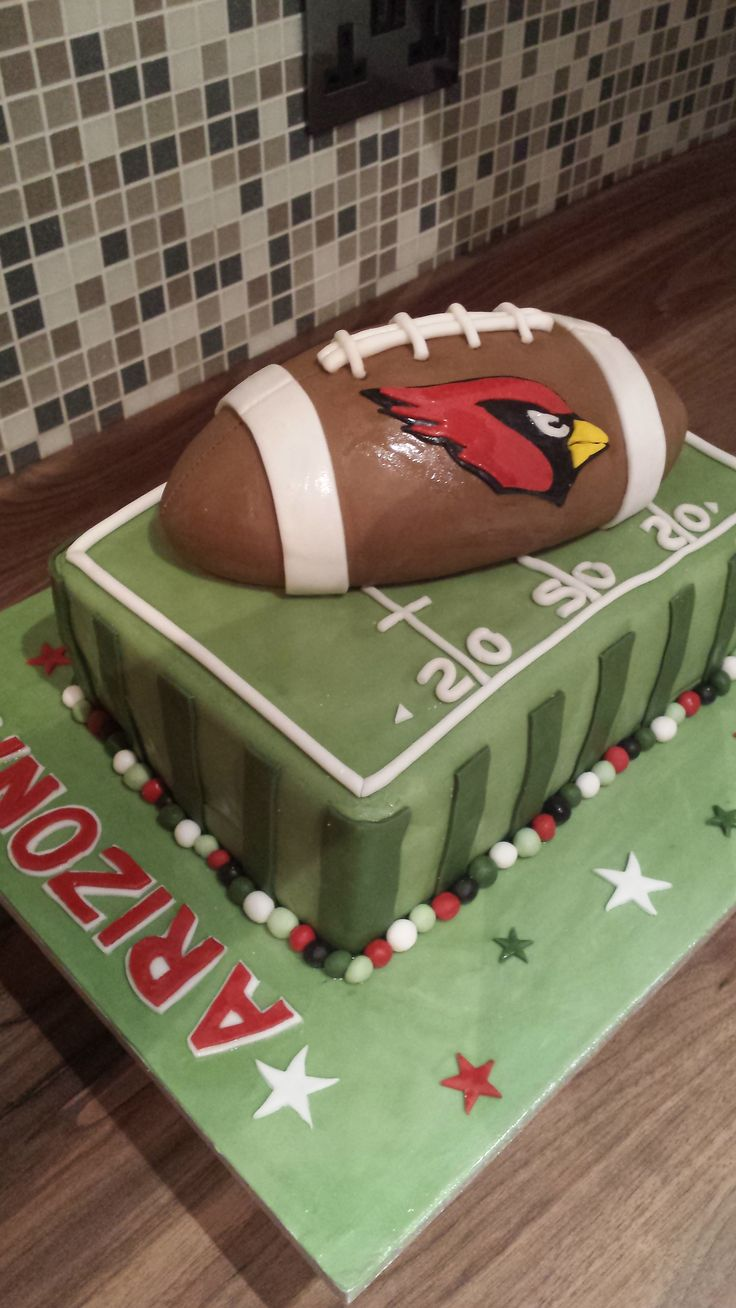 Az Cardinals Birthday Cake