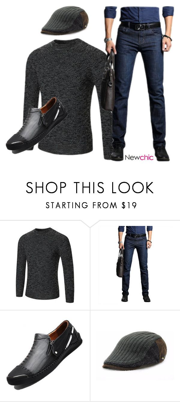 Man's Outfit in Autumn by @lovenewchic on Polyvore featuring men's fashion and menswear