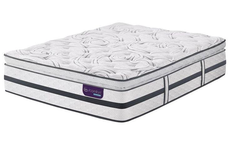 Serta Mattress - iComfort Hybrid Merit II Super Pillow Top California King Size Mattress - Merit II-CAL KING