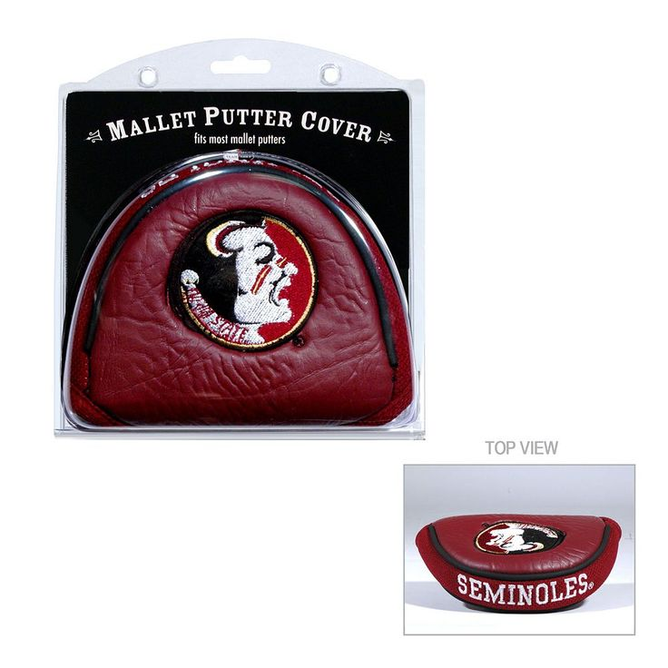Team Golf Florida State Seminoles Mallet Putter Cover, Multicolor